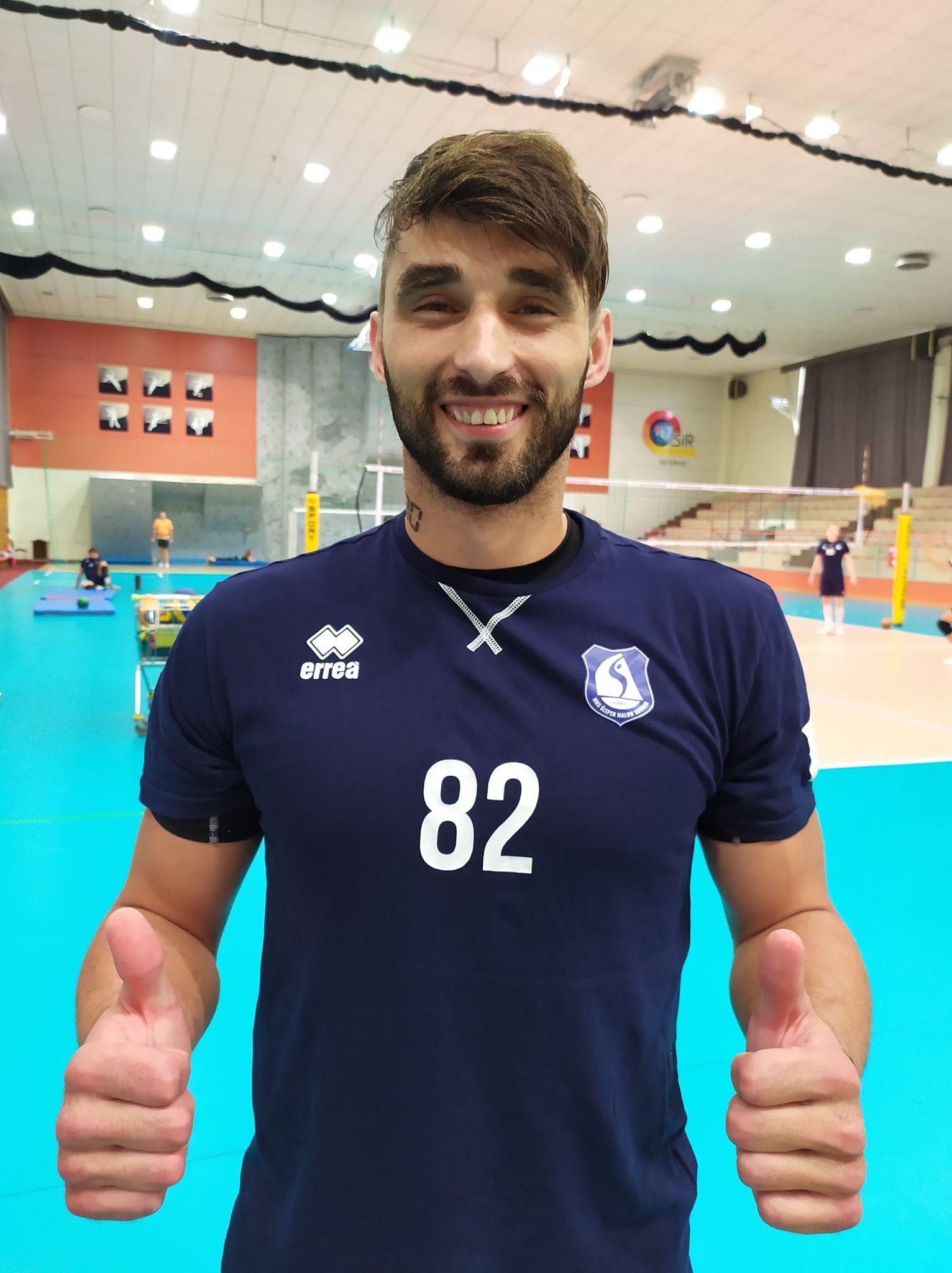 Adrian Stańczak - zawodnik MKS Ślepsk Malow Suwałki